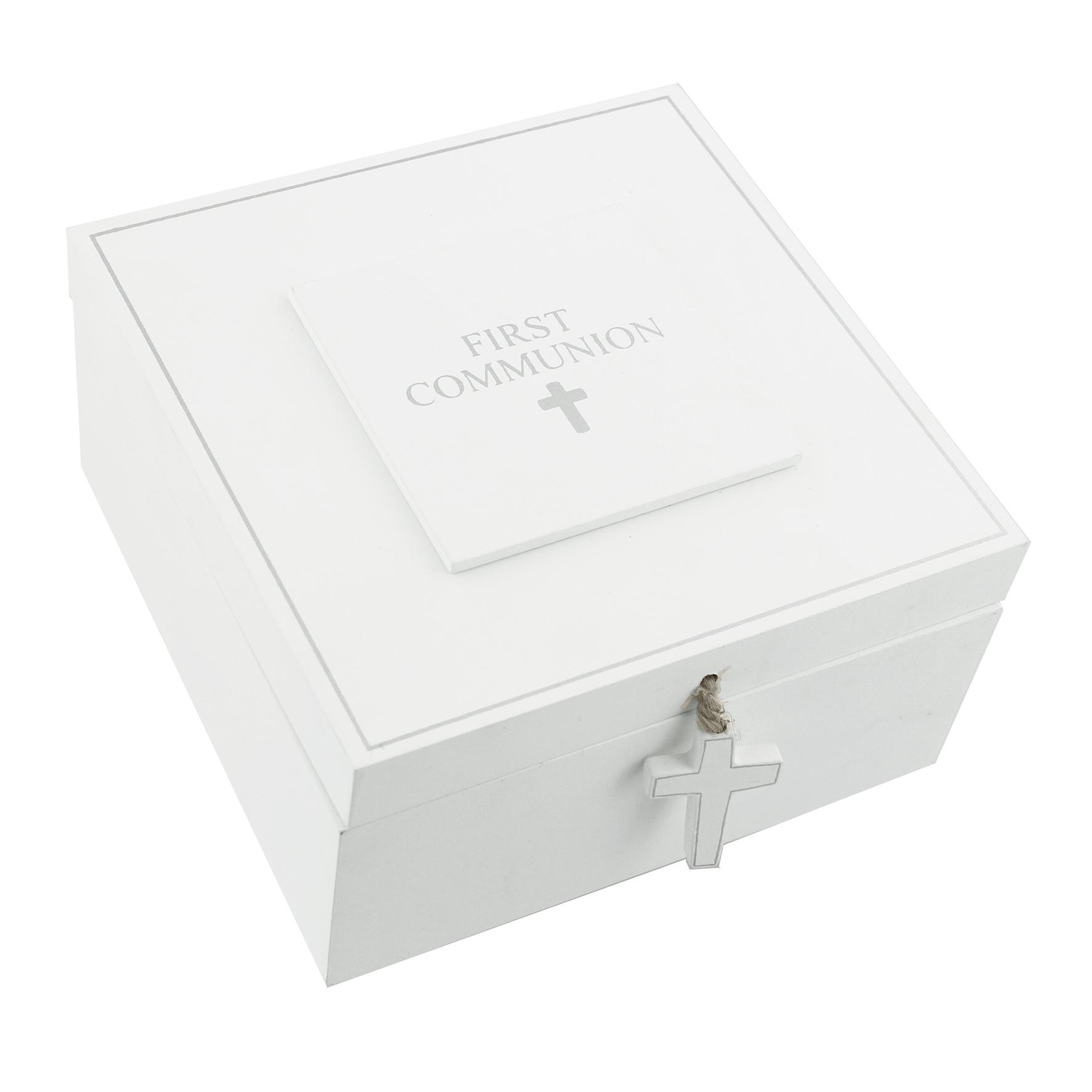 """Juliana MDF Keepsake Box """"Communion"""""""
