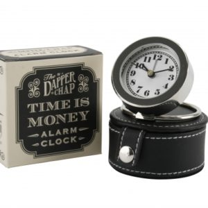 The Dapper Chap 'Time is Money' Alarm ClockThe Dapper Chap 'Time is Money' Alarm Clock