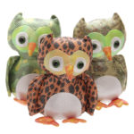 Collectable Owl Design Large Sand Animal