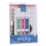 Pack of 6 Customisable Party Bags and Gold PenPack of 6 Customisable Party Bags and Gold Pen