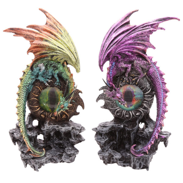 Decorative Fantasy Dragon Eye Figurine