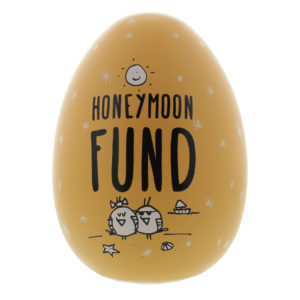 Eggcellent Large Nest Egg Peach Honeymoon FundEggcellent Large Nest Egg Peach Honeymoon Fund