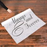 Always And Forever Wedding Aisle RunnerAlways And Forever Wedding Aisle Runner
