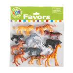 Pack of 12 Safari AnimalsPack of 12 Safari Animals