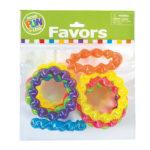 Pack of 12 Neon Twist Coil BraceletsPack of 12 Neon Twist Coil Bracelets