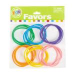 Pack of 24 Neon Jelly BraceletsPack of 24 Neon Jelly Bracelets
