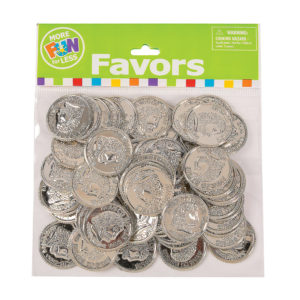 Pack of 144 Shiny Gold CoinsPack of 144 Shiny Gold Coins