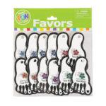 Pack of 12 Flower Toe RingsPack of 12 Flower Toe Rings