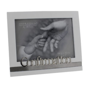 Occasions' White MDF Frame 'Confirmation' 7x5Occasions' White MDF Frame 'Confirmation' 7x5