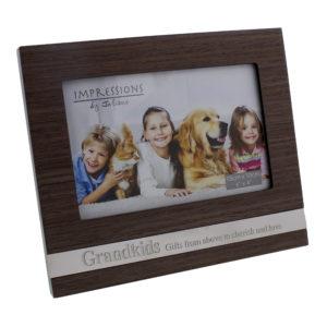 Juliana MDF Frame With Metal Plaque Grandkids 6x4Juliana MDF Frame With Metal Plaque Grandkids 6x4