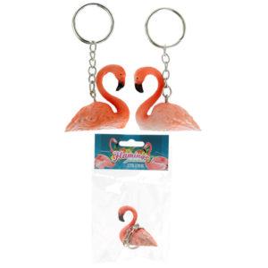 Fun Collectable Flamingo Keyring