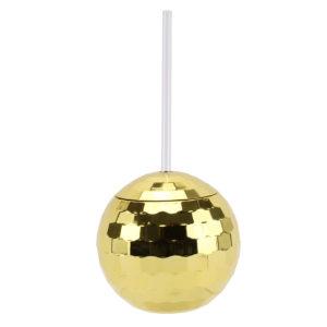 Gold Disco Ball TumblerGold Disco Ball Tumbler