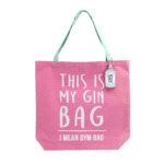 Gym and Tonic Gin Bag Tote BagGym and tonic Gin Bag Tote Bag