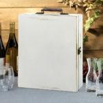 Antique White Wine Box BlankAntique White Wine Box Blank