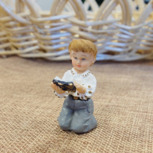 *CLEARANCE* Communion Boy kneeling with bible - Small*CLEARANCE* Communion Boy kneeling with bible - Small