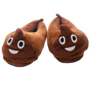 Poop Emoti Pair of Unisex Slippers