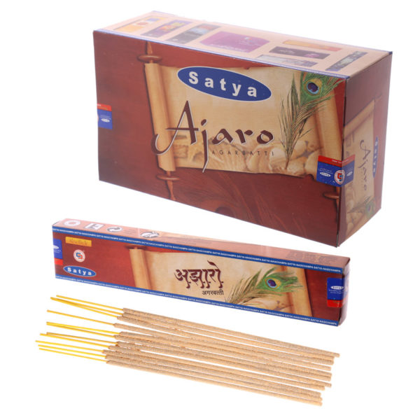 Satya Incense Sticks – Ajaro