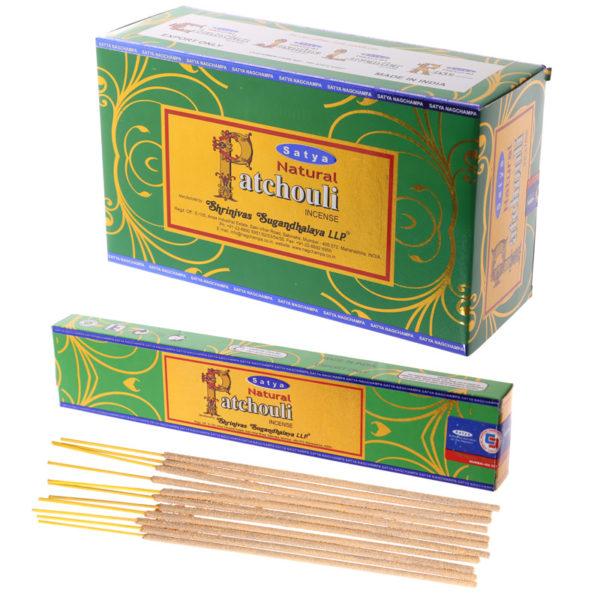 Satya Incense Sticks – Patchouli