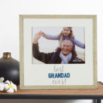 "MDF Photo Frame 7"" x 5"" - Best Grandad EverMDF Photo Frame 7"" x 5"" - Best Grandad Ever"