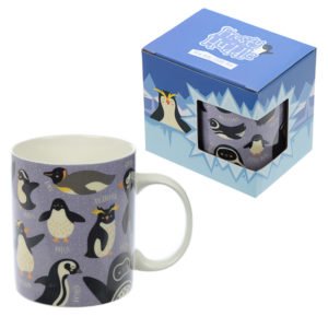 Collectable New Bone China - Penguin Design