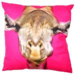 Fun Animal Cushion - Giraffe 40 x 40cm