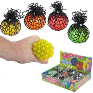 Fun Kids Squeezy Ball in a Net