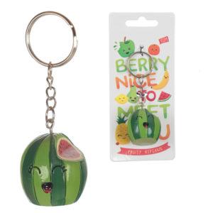 Fun Novelty Fruity Keyring - Watermelon