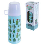 Funky 350ml Flask - Cactus Design