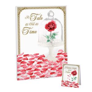 Lillian Rose Fairy Tale Rose Petal Signing CanvasLillian Rose Fairy Tale Rose Petal Signing Canvas