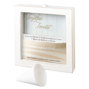 Lillian Rose Small Unity Sand Ceremony Picture FrameLillian Rose Small Unity Sand Ceremony Picture Frame