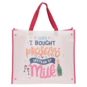 Prosecco Slogan Durable Reusable Shopping Bag