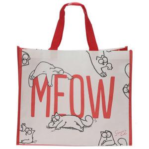 Simon's Cat Meow Design Shopping Bag