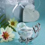 Choice Clear Crystal Baby Carriage FavourChoice Crystal By Baby Carriage
