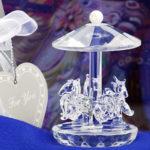 Choice Clear Crystal Horse CarouselChoice Crystal Carousel
