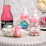 Design Your Own Collection Pink Baby Girl Bottle FavorsDesign Your Own Collection Pink Baby Bottle Favors