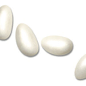 1kg Box Pearlised Sugared Almonds Sweets Whole Almond Ivory1kg Pearlised Sugared Almonds Whole Almond Ivory