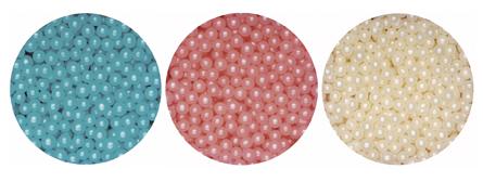 1kg Box Pearlised Sugared Balls 4mm Blue Pearl Sweets1kg Pearlised Sugared Balls 4mm Blue Pearl