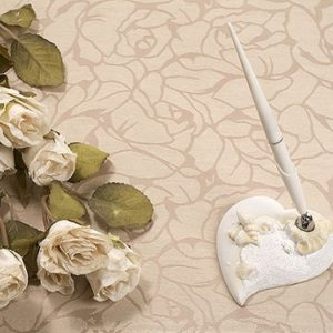 Beach Shell Theme Ivory Wedding Pen SetBeach Theme Pen Set