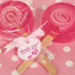 Sweet Treats Pink Lollipop Soap FavorSweet Treats Pink Lollipop Soap Favor.