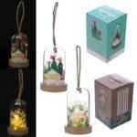 Decorative Tropical LED Glass Dome Light Jar