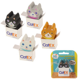 Fun Cute Cat Eraser