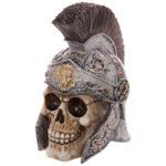 Gruesome Skull Centurion Helmet Ornament
