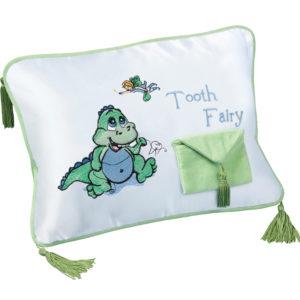 Dinosaur Tooth Fairy CushionDinosaur Tooth Fairy Pillow