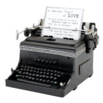 1945 Mini Vintage Black Typewriter1945 Mini Typewriter