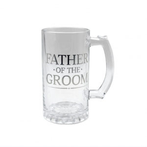 Father of The Groom Beer Tankard Gift - WeddingFather of The Groom Tankard