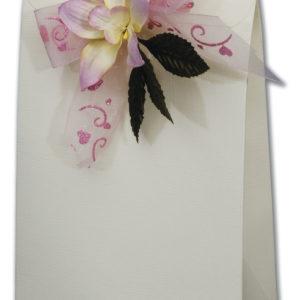 Ivory Silk Sachet Box (160x65x230mm)Ivory Silk Sachet Box