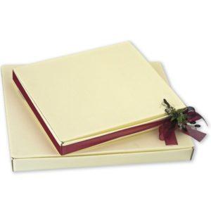 Ivory Silk Square Box Cornice (330x270x30mm)Ivory Silk Square Box Cornice