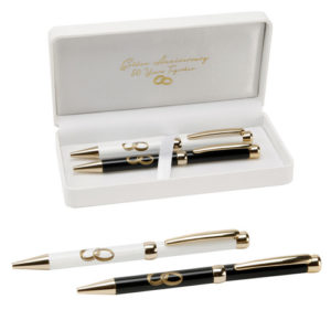 Amore Wedding Set of 2 Pens '50th Anniversary'Amore Set of 2 Pens 50th Anniversary