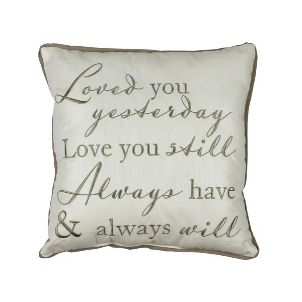 Amore Cushion Pillow Love Always 35cm