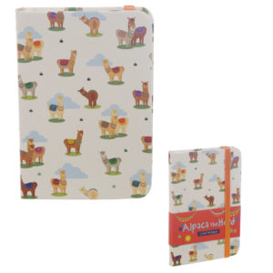 Collectable Hardback Notebook - Alpaca Design